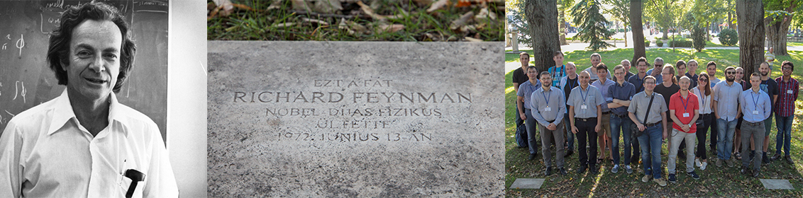 Richard Feynman, IFIC, PARTICLEFACE, COST,