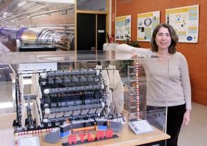 Arantxa Ruiz Martínez, LHC, ATLAS, IFIC, trigger, bosón de Higgs, calorímetro hadrónico, TileCal,