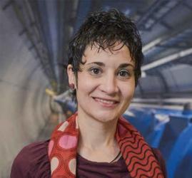 María Moreno Llácer, Premio Científico-Técnico de Algemesí, quark top, bosón de Higgs, ATLAS, LHC, IFIC,