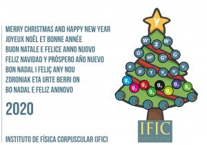 Christmas, IFIC, Navidad, 2020, año nuevo, física partículas, física nuclear, física astropartículas, modelo estándar,