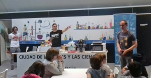 ogmios 2019, IFIC, CAC, Museo de las Ciencias de Valencia, divulgación científica,