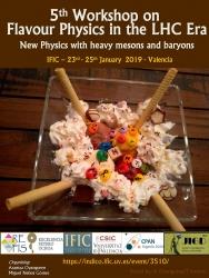 Flavour Physics, LHC, física de sabor, física de partículas, IFIC, LHCb,