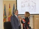 Juan Fuster, Rosa Menéndez, delegación CSIC Comunidad Valenciana,