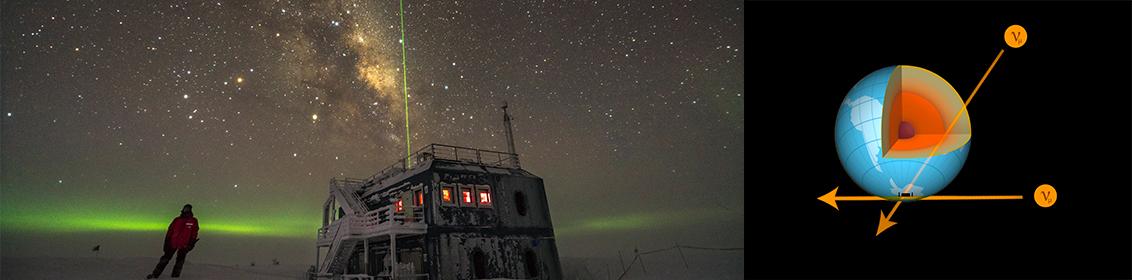 tomografía Tierra neutrinos, Earth tomography neutrinos, IceCube, IFIC, física, fsica de partículas, neutrinos,