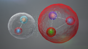 pentaquark, LHC, LHCb, IFIC, fuerza fuerte, strong force,